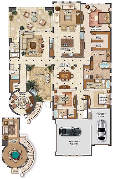celebrity homes floor plans nick carter