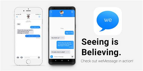 imessage to android wemessage promises to bring imessage to android uses mac as server general discussion