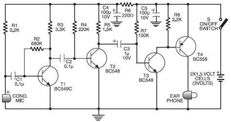 digital hearing aid circuit diagram question dc analysis of a transistor lifier