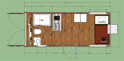 sea container homes plans shipping container home portable hunting cabin 20ft
