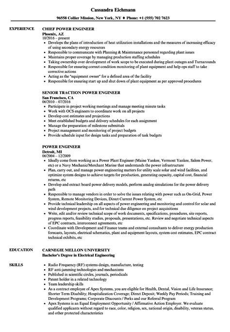 technical design engineer job description power engineer resume sles velvet jobs