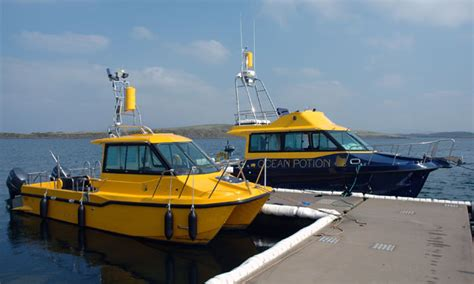 commercial fishing boat hull design power catamarans and multihulls boats