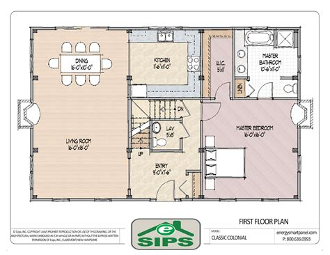 open floor plan colonial homes house plans plan drawing open plan and open floor
