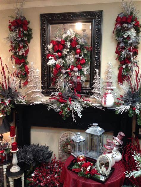 Bantal Natal Merah perbaduan merah dan grey untuk dekorasi natal kusuma property