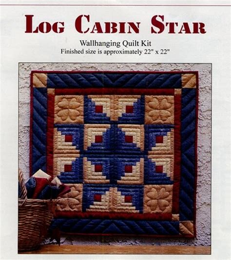 Log Cabin Quilt Kits by S Of Greenfield Log Cabin Wallhanging Quilt Kit At Joann
