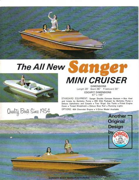 sanger jet boat hull sanger boats