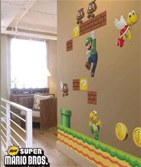 super mario bros decora las paredes
