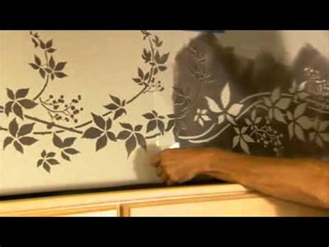 kitchen stencil designs stencils how to stencil a kitchen border wall stencils
