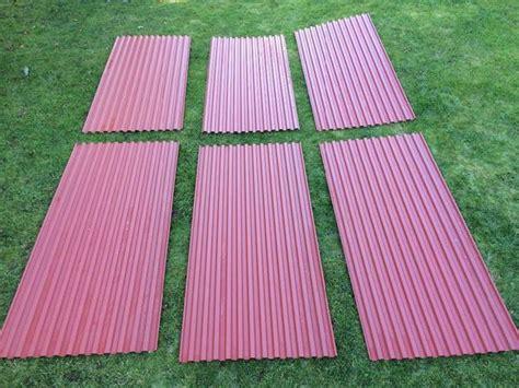 carport dach material carport dach 6 neue salux wellplatten ws premium trapez