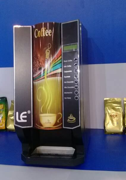 Professional Table Top Coffee Vending Machine For Hotels Table Top Coffee Vending Machine