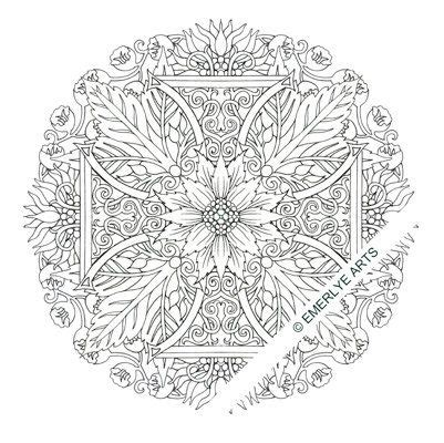religious mandala coloring pages 1000 images about christian coloring pages on pinterest