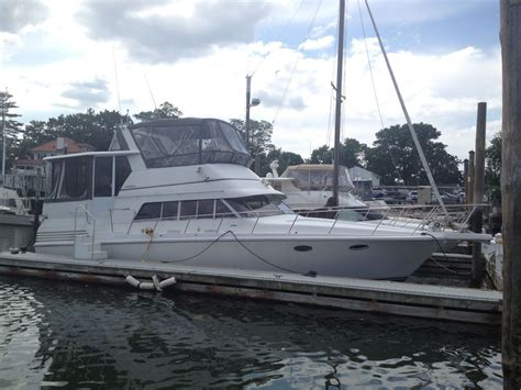 trojan boats trojan 402 motor yacht boat for sale from usa