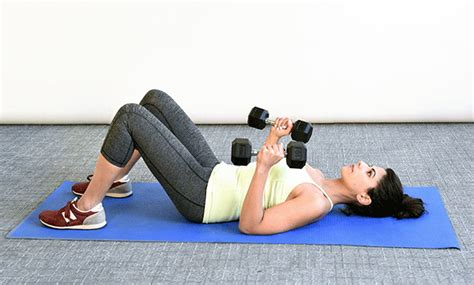 Dumbell Floor Press by 11 Dumbbell You Should To Start Lifting Weights