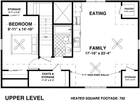 56 sq ft farmhouse style house plan 1 beds 1 baths 792 sq ft plan
