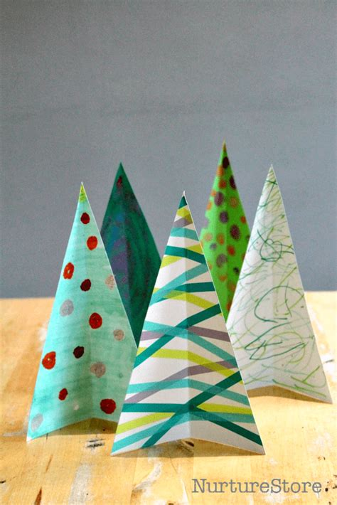 christmas tree crafts preschool sensory play tree craft and matching nurturestore