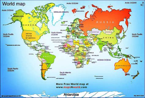 map of continents with country names world map flickr photo