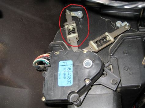 1994 chevy silverado blend door actuator service manual 1994 buick century mode actuator