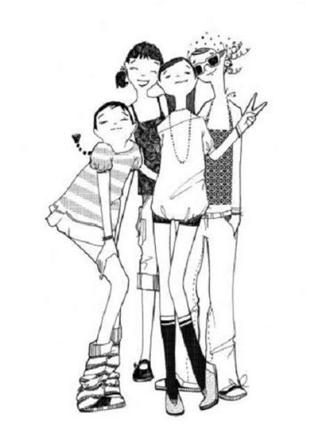 imagenes alegres para dibujar dibujo de chicas delgaditas y espigaditas para pintar y