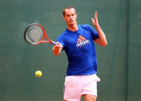 tennis players short haircut with line andy murray asks who will lose hair first between him and