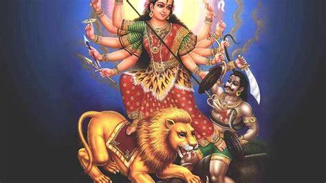 wallpaper desktop goddess durga goddess durga wallpaper goddess maa durga latest