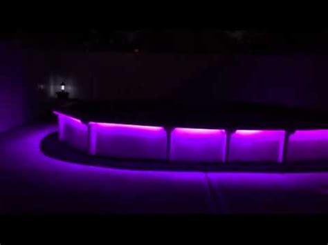 lighting around pool deck led strip lights around swimming pool youtube