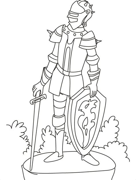 printable coloring pages knights knights coloring pages coloring home