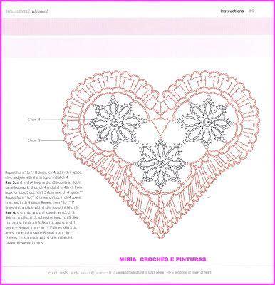 heart pattern english 965 best ℭrọḉhḛt hḛạrtş ℭọ images on pinterest