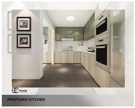 Kitchen Design For Small Flat 9 Kitchen Design Ideas For Your Hdb Flat