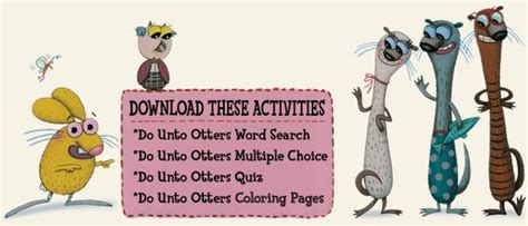 do unto otters a numerous activities to go along with the book do unto otters by laurie keller there is also a