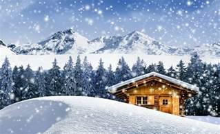 winter cabin wallpapers wallpaper cave