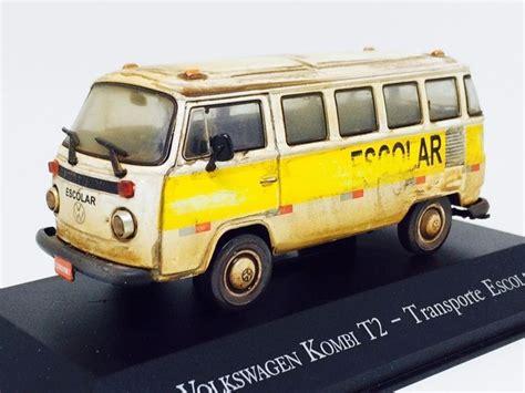 volkswagen kombi mini mini volkswagen kombi t2 escolar custom e envelhec 1 43