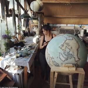 Handmade Globes - handmade globes photographs show the craftman s dedication
