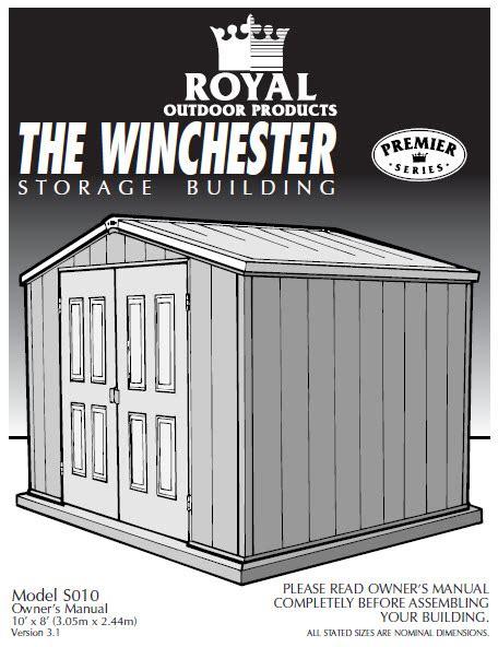 shop royal outdoor products 10 x 10 esquire ultra vinyl royal storage buildings best storage design 2017