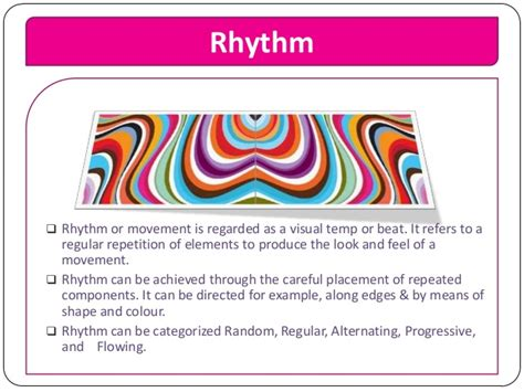 design definition of rhythm elements and principles of design