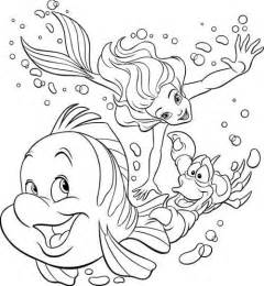 ariel free coloring pages disney princess coloring pages