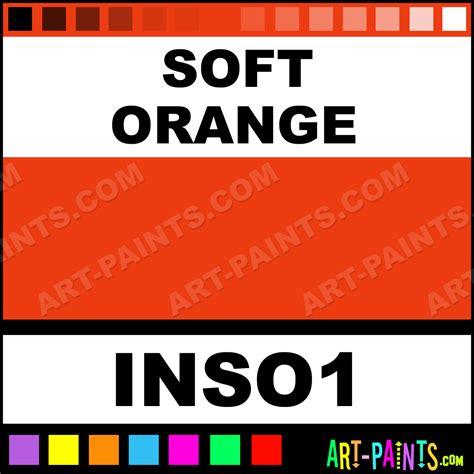 soft orange soft orange colors tattoo ink paints inso1 soft orange