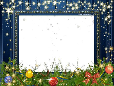 merry christmas photo frame template holidays
