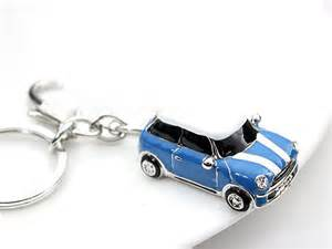 Mini Cooper S Keyring Mini Cardrop Of Plus Luxury Car Keychain Silver