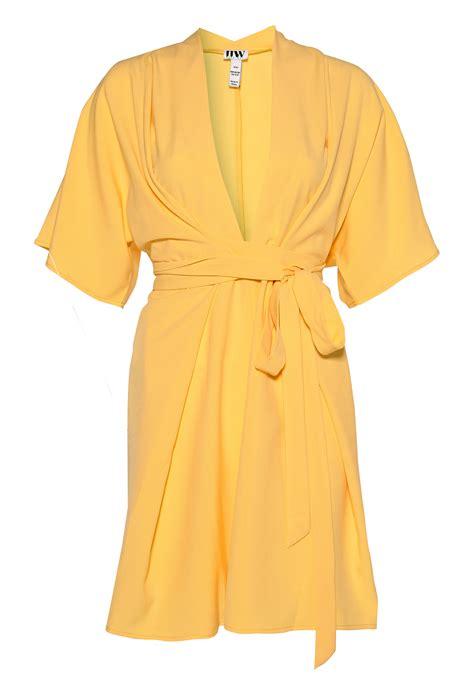 Dress Anak Simple Dress Kimono make way karmen kimono dress light yellow bubbleroom
