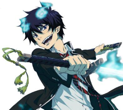 rin okumura demon form 9 best blue excorcist images on pinterest ao no exorcist