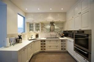 small u shaped kitchen with island u shaped kitchen designs without island for small house using white cabinet and storage nytexas