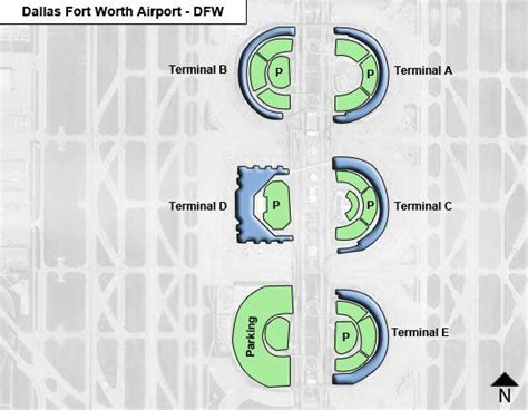 dfw airport map dallas fort worth dfw airport terminal map