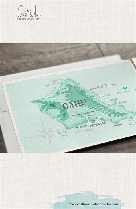 Wedding Invitations Oahu by Hawaii Destination Wedding Invitation Oahu Wedding Aloha