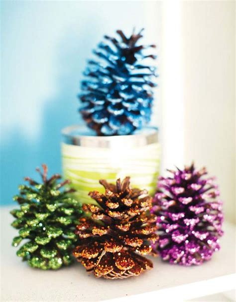 christmas decorating with pinecones all about christmas