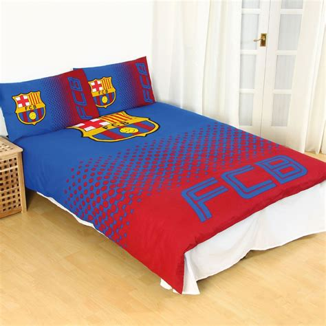 barcelona fc bedroom set new barcelona fc football club double duvet quilt cover
