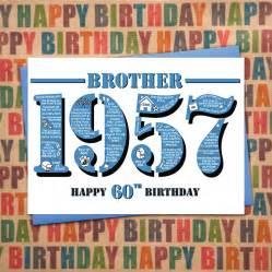1957 happy 60th birthday card