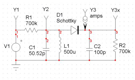 diode detector circuit xtal how to