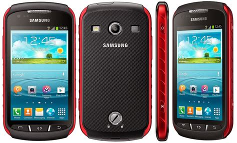 Samsung Xcover 2 sysphones specs samsung galaxy xcover 2 gt s7710