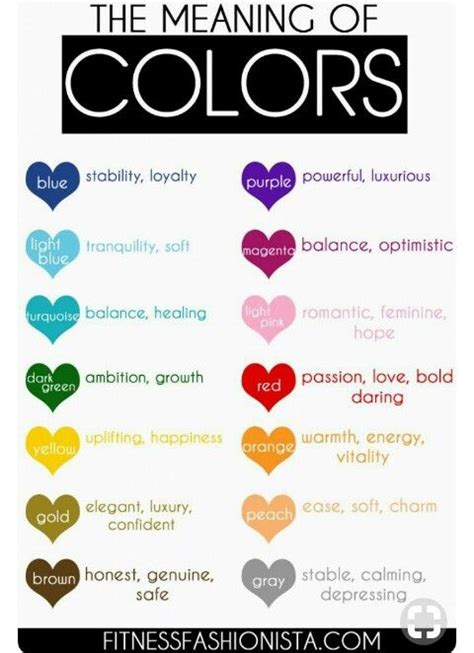 meaning colors fair best 25 best 25 mood color meanings ideas only on