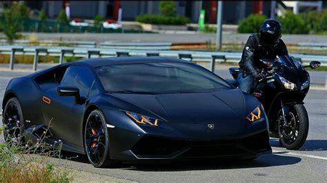Lamborghini Huracan VS 14' CBR 1000RR   YouTube